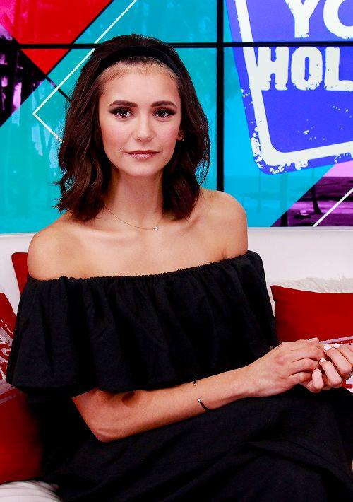Nina Dobrev visits the Young Hollywood Studio in LA // September 27, 2017.