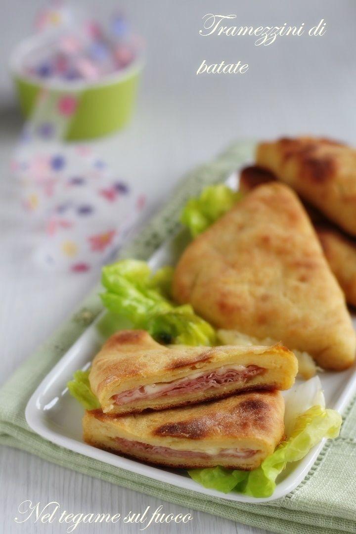 Cotti in forno ma morbidi e dal cuore filante!  #patate #foodporn
