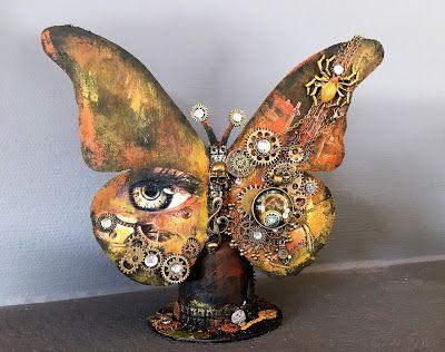 Hekta på papirkunst: Close your eyes, open your mind, spread your wings...