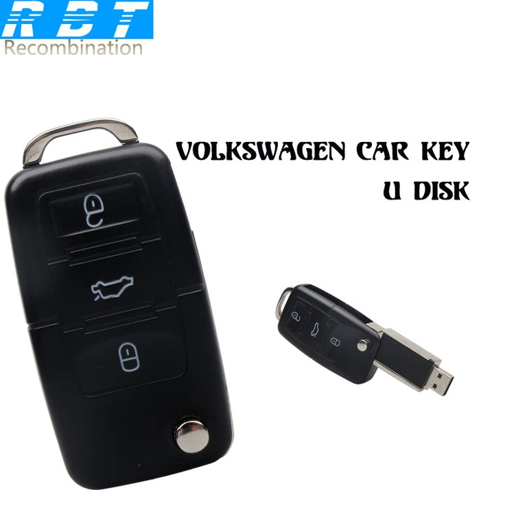 RBT Usb Flash Drive High Speed Cool Volkswagen Car Key 8GB 16GB 32GB Memory Usb stick 2.0 Pen Drive Pendrive For PC //Price: $12.50      #followme