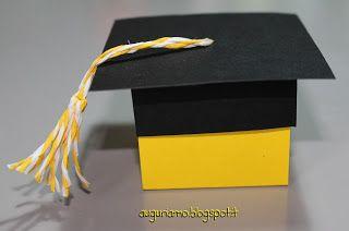 Scatolina originale per una laurea memorabile.  Date un'occhiata alla scatolina che ho realizzato per i confetti di una laurea! Fatemi sapere se vi piace!
