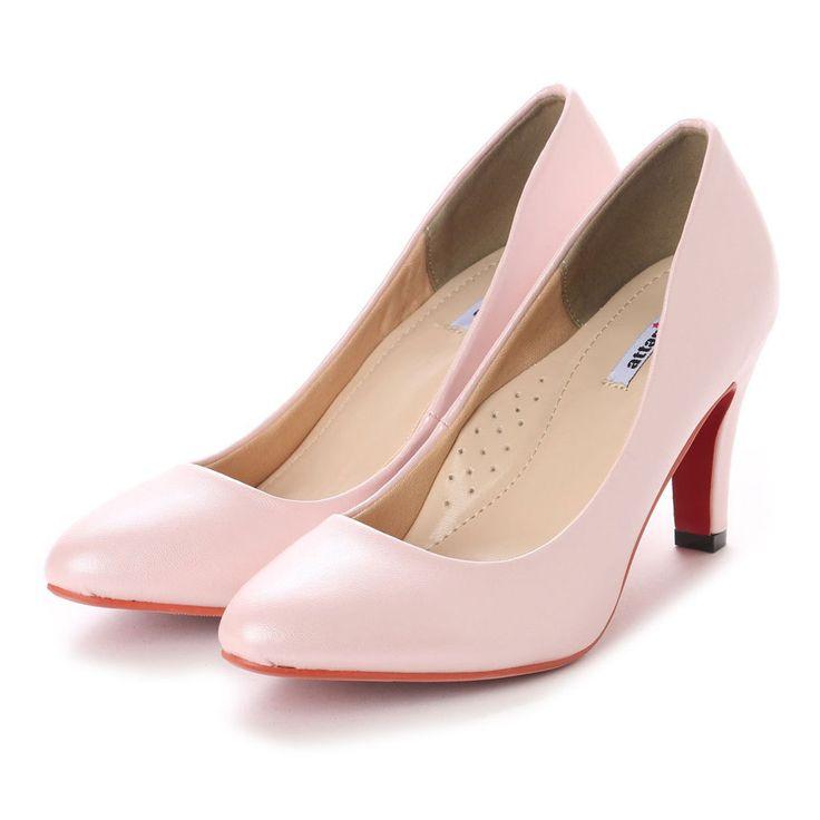 アタガール attagirl レッドソール ハイヒール パンプス 7cmヒール (ピンクスムース) -靴&ファッション通販 ロコンド〜自宅で試着、気軽に返品