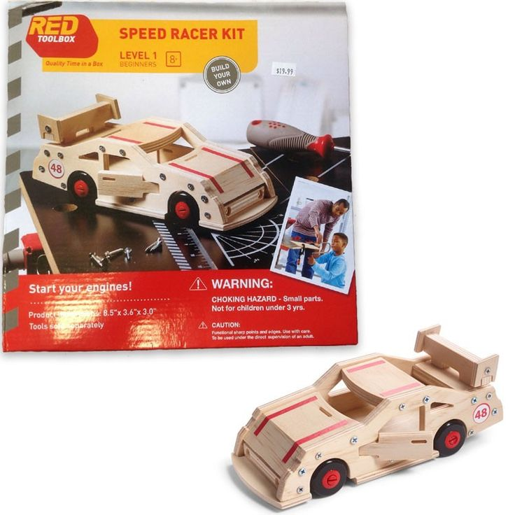 build a speed racer car kids woodcrafting kit educational toys planet