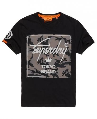 #T-shirt con motivo mimetico city brand  ad Euro 34.95 in #Superdry #T shirt