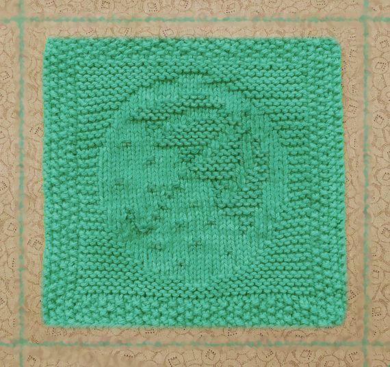 tricoté le torchon, parapluie, 100 % coton, été, pluie, gouttes de pluie, tricotés à la main linge à vaisselle, tricoté vert, gant de toilette, torchon coton