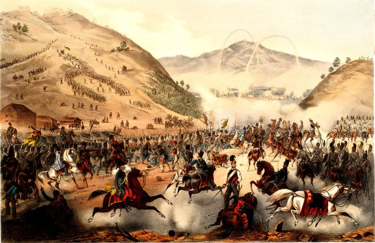 Battle of Pákozd was a draw that pushed the loyalist Croatian forces towards Vienna and away from Pest - Zalder, F. (artist), Rauh, J. (lithographer)