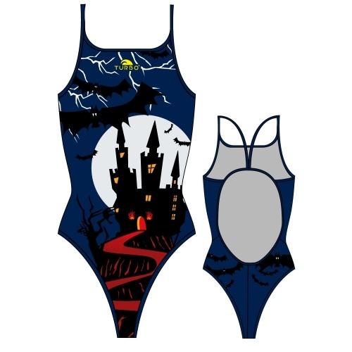 turbo halloween castle womens ts suit costume swimming - Halloween Swimsuit