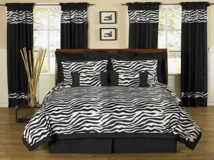 Bedroom Zebra Bedroom Decor Which Offers An Edgy Yet Girly Look To Your Room As Well As The Polka Dots Lines That Create The Perfect Balance Zebra Bedroom Decor For Your House