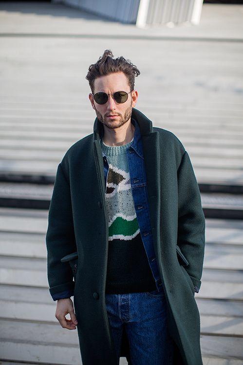 Street looks à la Fashion Week homme automne-hiver 2015-2016 de Paris