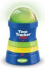 Learning Resources Time Tracker Mini - Temporizador Azul, Verde, Amarillo