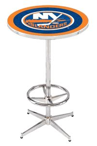 New York Islanders Pub Table - click image to enlarge