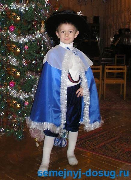 Маскарадный костюм мушкетёра на детский праздник