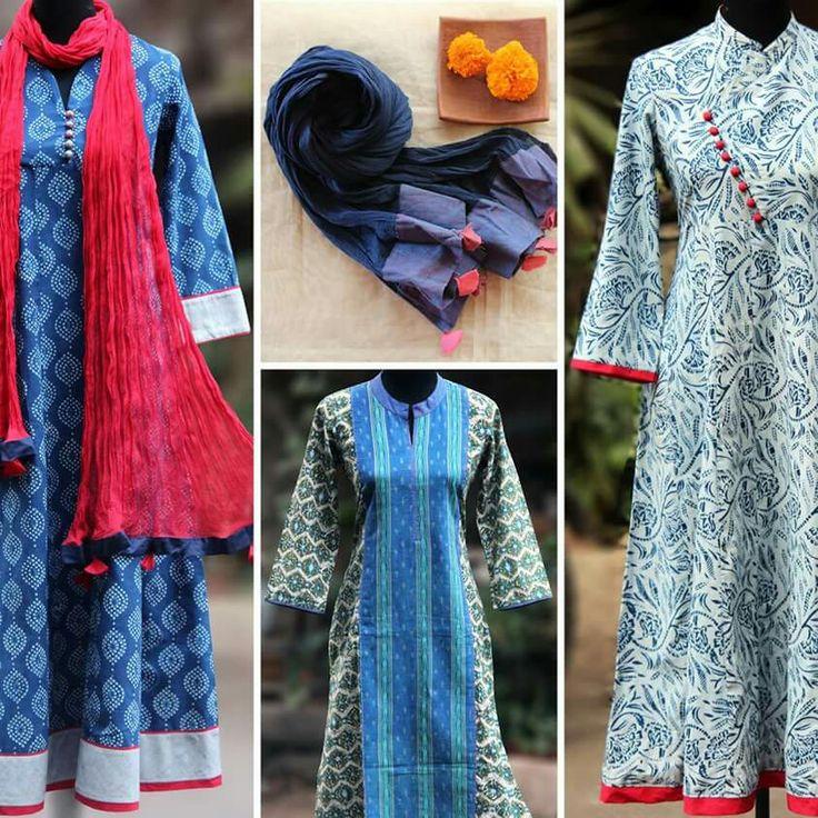 Indigo indulgence at Maati crafts -  fb