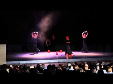espectaculo diosas del sur de la academia de baile musica en movimiento