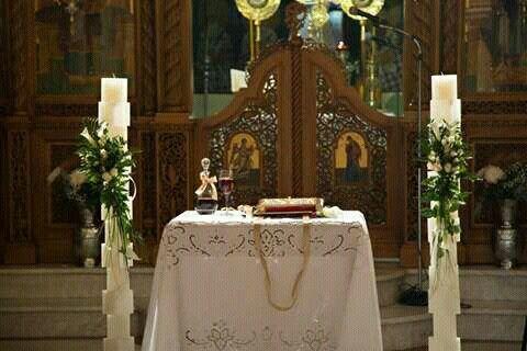 Λαμπάδες γάμου αποσπώμενα κεριά