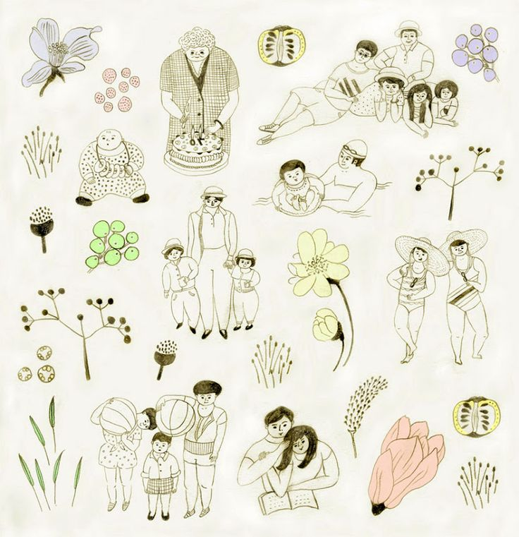 葉懿瑩 i ying yeh / illustration / blog: Illustration work for newspaper : 照見幸福的所在