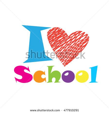 I love School background. Happy Teacher Day card. Vector illustration. Back to…
