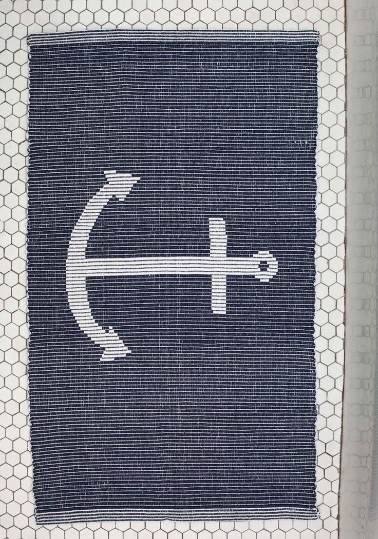 1000 ideas about nautical bath mats on