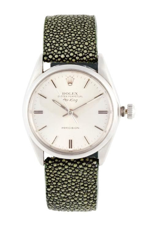 Vintage Rolex Stainless Steel Air-King by CMT Fine Watch and Jewelry Advisors for Preorder on Moda Operandi