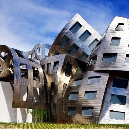 Lou Ruvo Brain Institute by Frank Gehry
