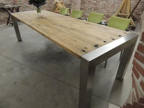 Eigentijdse rustieke tafel voor elk interieur 280x95 cm