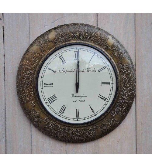 Stylowy #zegar w eleganckiej ramie. Model: HM-145 @ 210 zł. Zamówienie online: http://goo.gl/HHXeGH