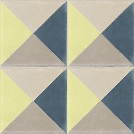 Carreaux de ciment - Les motifs - Carreau PERSE B 21.30.36.37 - Couleurs & Matières