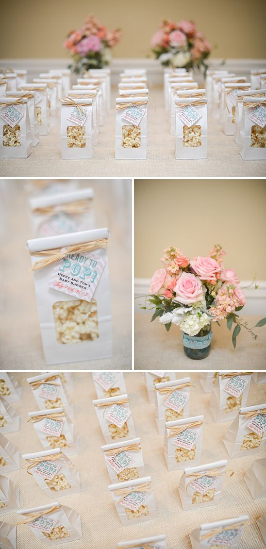 Pretty Aqua and Coral Baby Shower....Love love this idea for a baby shower!!