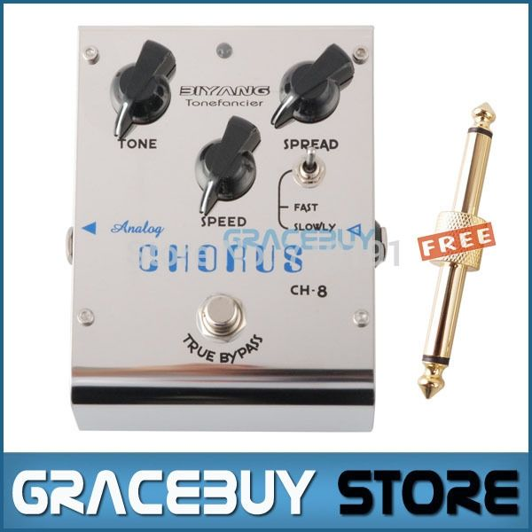 48.45$  Buy here - Biyang CH-8 Analog Chorus Electric Guitar Bass Effect Pedal True Bypass Brand New   #bestbuy