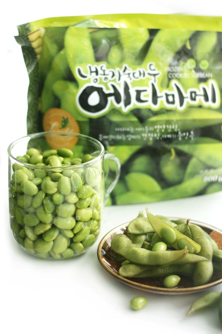Easy chef / Frozen Edamame Package Design