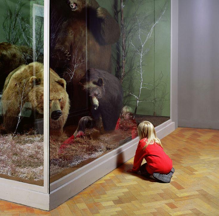 The Museum, Girl with Bears, Royal Museum of Scotland, Edinburgh, 1999