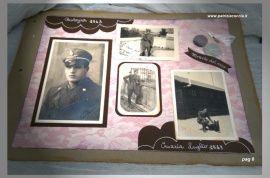 #Album #di #famiglia #Eumene & #Clara realizzato a mano con la tecnica dello #scrapbooking - PAG 6