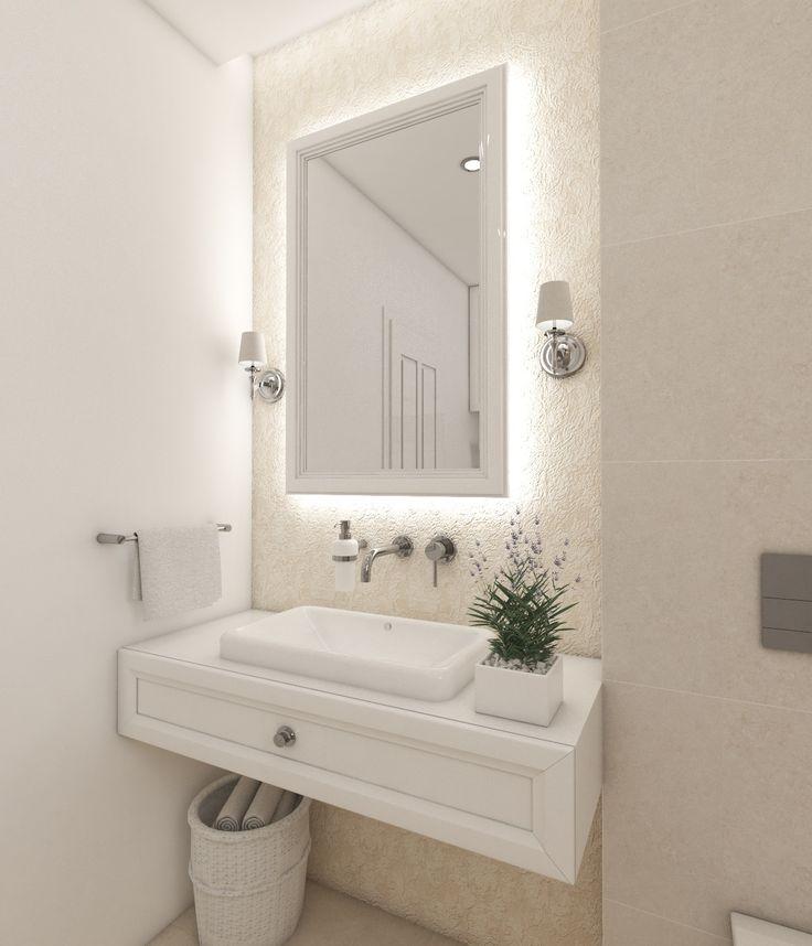 Architect Katka Petkovšek for Perfecto design: Elegant bathroom ARLES