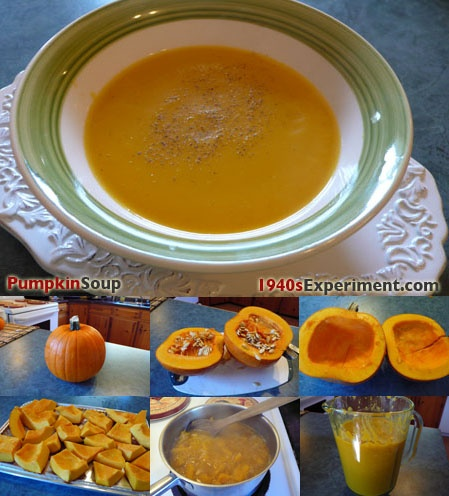 The 39 best ww ii food images on pinterest vintage recipes world wartime pumpkin soup forumfinder Image collections