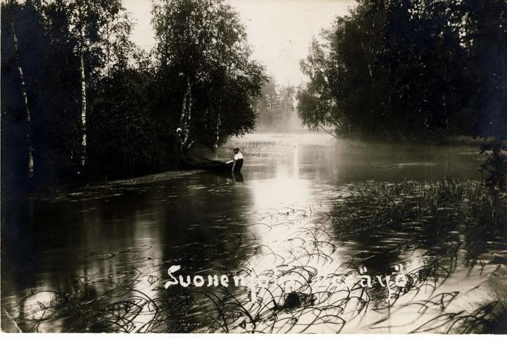 Postcard from Suonenjoki, 1922