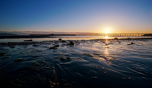 White Rock Beach at Sunset - Near Vancouver British Columbia - At Flickr.com #Vancouver #White #Rock #Beach #Sunset