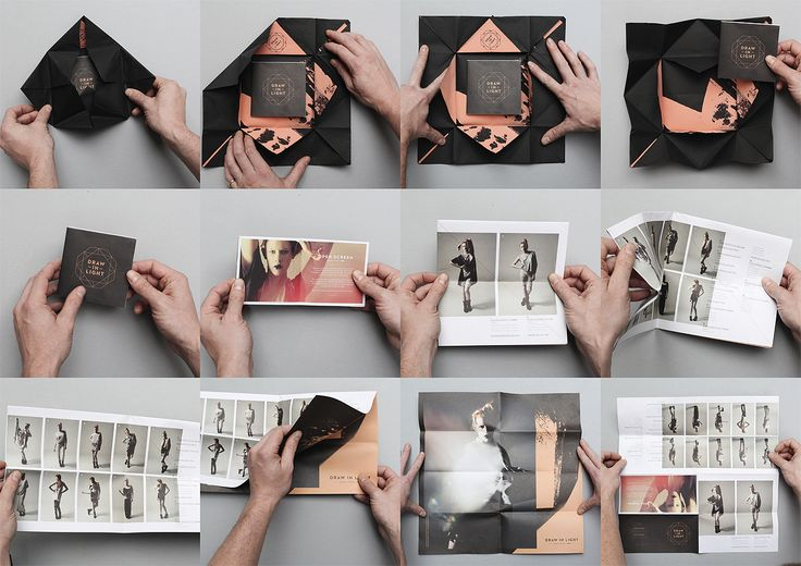 Useful   Useful is a a design studio based in London, UK. Their client list includes Topman, YMC, Used Magazine, Olivia Morris, Hanna Ter Meulen and Freedom Jewllery. The images above are from the identity and branding of Draw In Light. I love the packaging of the catalog, the print is lovely and the color pallet is spot on. The typography is clean and done with wonderful care for details and works fantastically with the photographs.