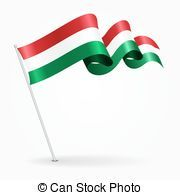 Image result for hungarian flag drawing