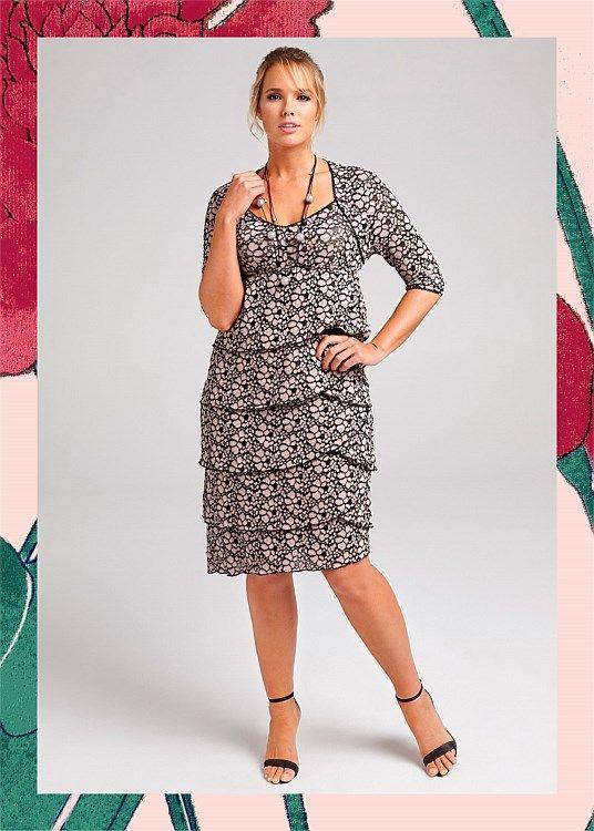 In Full Bloom Dress #takingshape #plussize #curvy #eventwear #event #specialevent