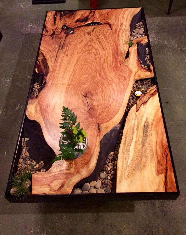 I need some plans  I can reproduce this very quickly  http      Rustic  Coffee TablesNatural Wood. Best 25  Wood resin table ideas on Pinterest   Woodworking with