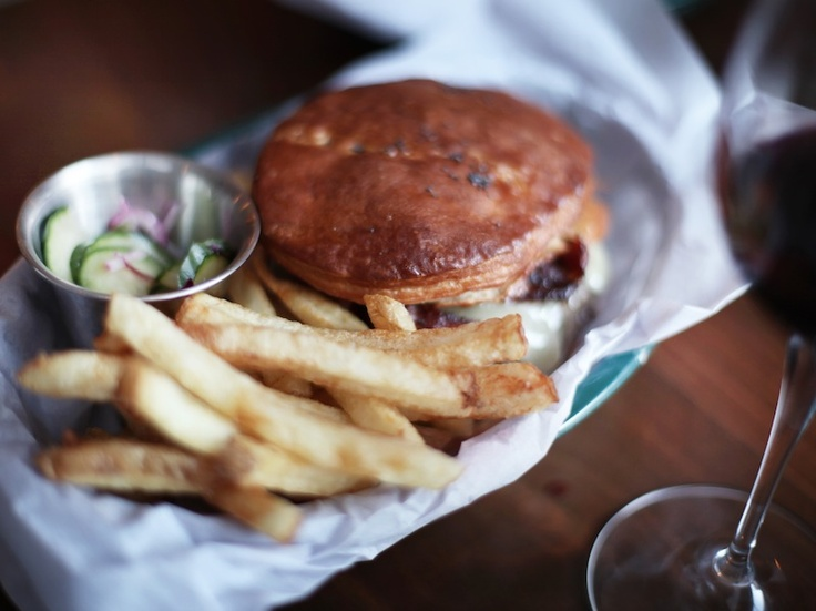 Simple tasty food is where it;s at. Clarke's burgers are up there.