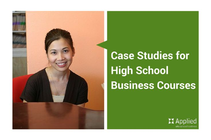 entrepreneurship case studies for high school students