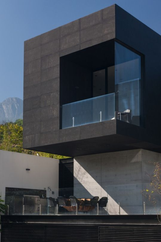 7 best Facade maison contemporaine ton gris images on Pinterest - kchenfronten modern