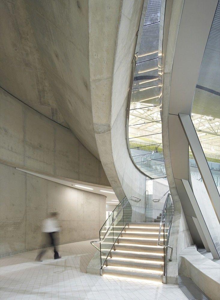 London Aquatics Centre for 2012 Summer Olympics,© Hélène Binet