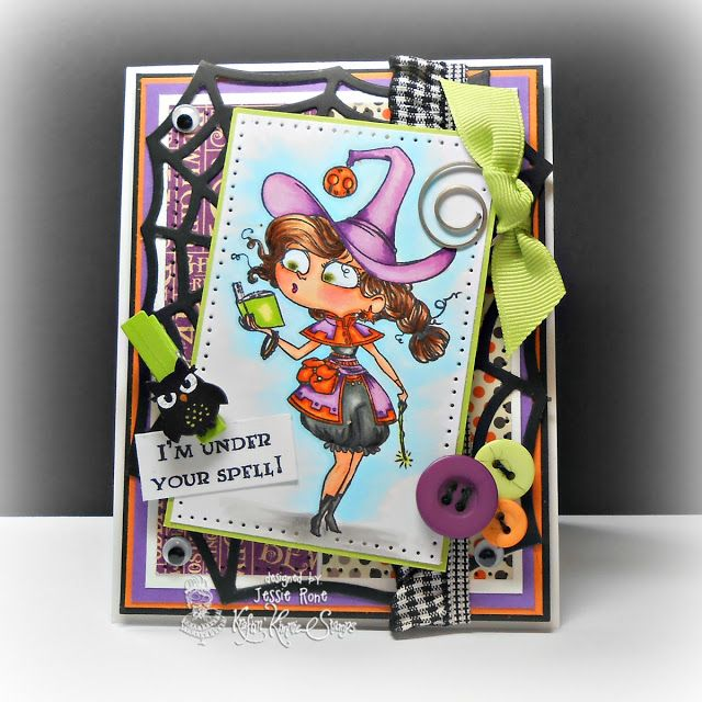 can you sayaddictedto stamps halloween cardscopiccats - What To Say In A Halloween Card