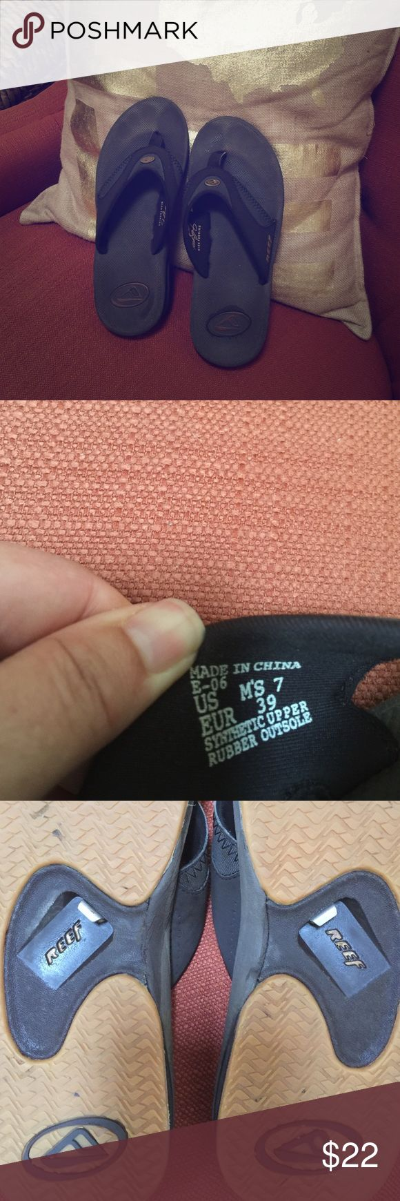 Women's sandals big w - Reef Shoes Big W Unisex Reef Sandals W Bottle Opener Dark Brown Good Condition Women