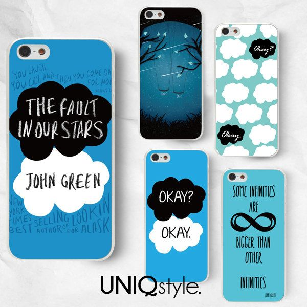 The Fault in Our Stars phone case  John Green phone by Uniqstyle, $9.99