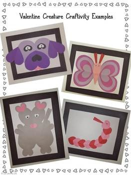 "Narrative Writing - This fun valentine themed activity will get students excited about writing. They'll create a creature for ""The Valentine Zoo"" entirely out of hearts! This narrative writing lesson is differentiated for 1st/2nd grades and 3rd/4th grades and it meets CCSS standards."