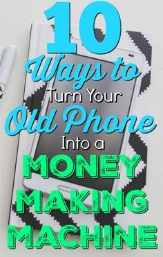 Don't just sell a phone for $10-30 when you paid hundreds for it! With a few effortless apps, you could be making that much (and more!) per month. Read more about how you can turn your old smartphones into money making machines! http://www.mypocketjingles.com/2016/01/10-ways-to-make-money-with-your-old-phones.html