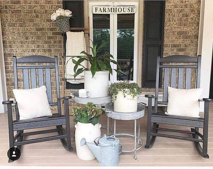 65 Best Farmhouse Front Porch Remodel Ideas